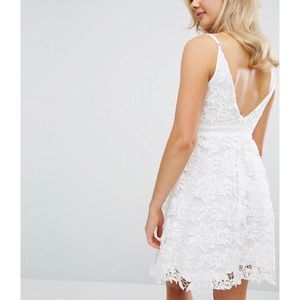 56384e3364 Lipsy London Dresses - NWT Lipsy Allover Crochet Lace Prom Skater Dress